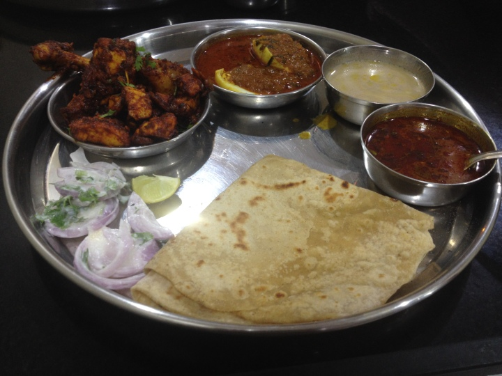 Kolhapuri Thali at Gavkari Hotel College Road