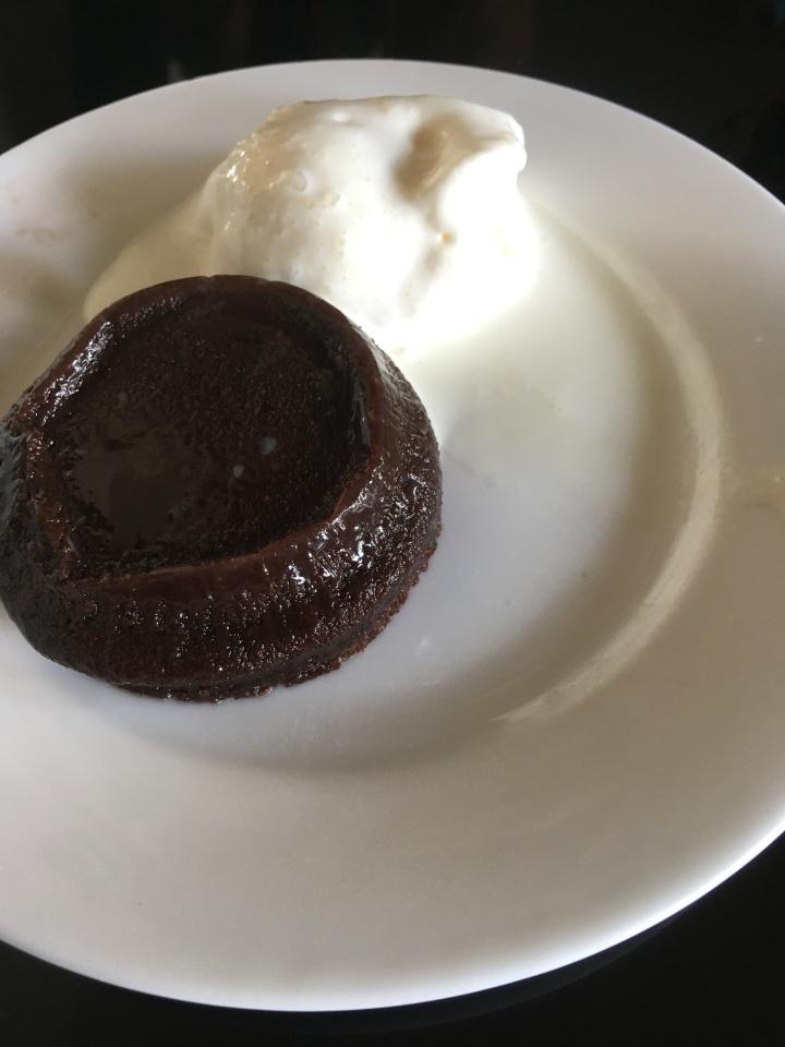 Choco Lava Cake  Malaka Spice Vellone vineyards Nashik