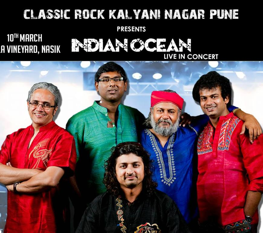 Indian Ocean Live in Nashik