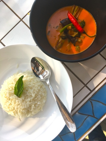 Thai Curry at Dionys Bistro & Lounge Nashik