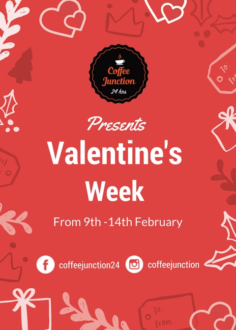 Coffee Junction Valentines Week