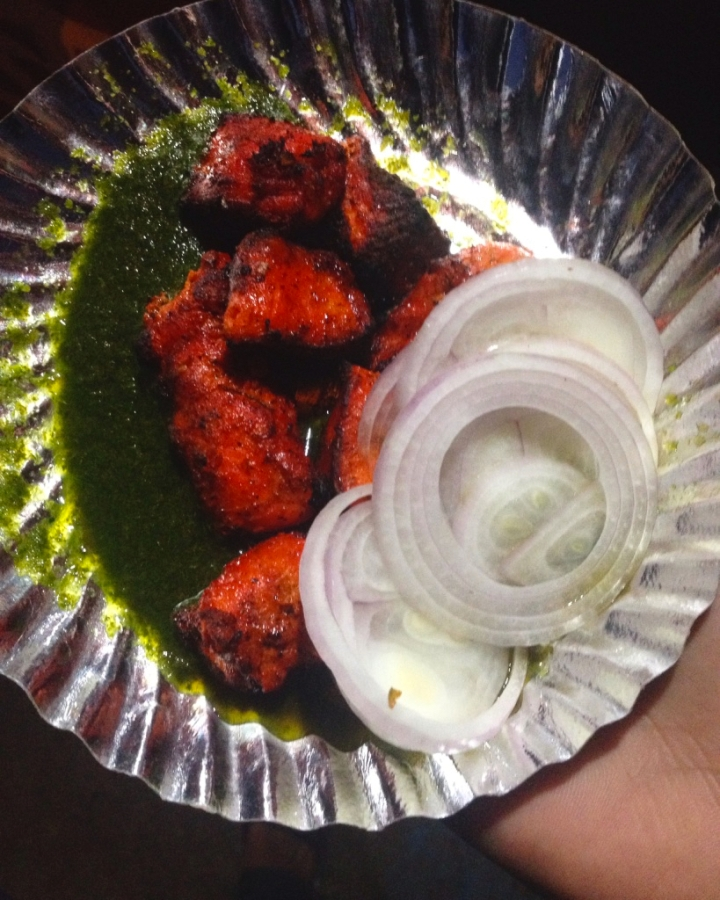 Chicken Tikka Kebabs at Pathardi Phata