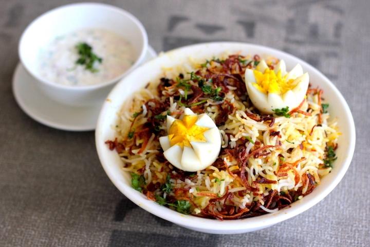 Sajuk Tup Dum Biryani at Eatery Nashik