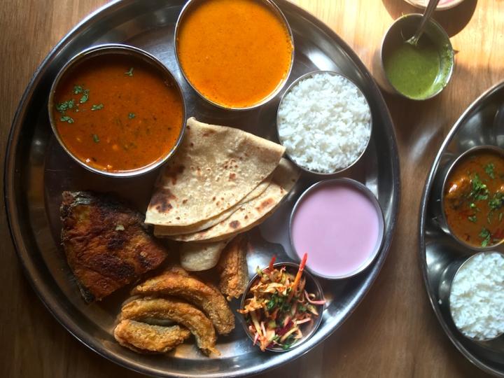 Special Fish Thali at Radhakrishna Nashik