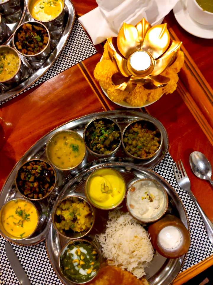 Satvik Thali The Taj Gateway Hotel Nashik